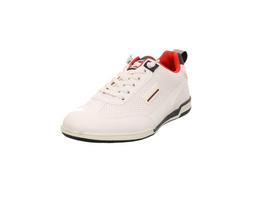 Bugatti Herren Solar Exko Weiße Synthetik Sneaker