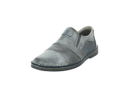 Rieker Herren B6662-45 Graue Synthetik Slipper
