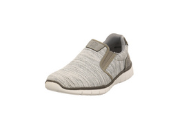 Rieker Herren B8763-83 Grauer Textil/Lederimitat Sneaker