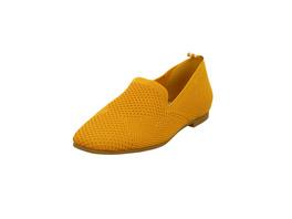 La Strada Damen 1804422-4580 Gelbe Textil Slipper