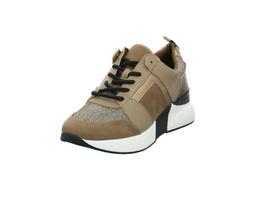 La Strada Damen 1807433-2225 Taupe Kombinierter Synthetik/Textil Sneaker