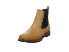 Tamaris Damen 25056-581 Brauner Leder/Textil Chelsea Boot