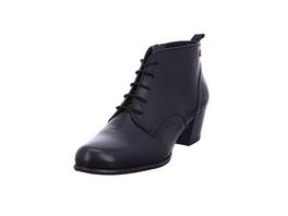 Tamaris Damen 25115-003 Schwarze Glattleder Ankle Boots