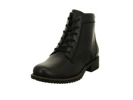 Tamaris Damen 25210-001 Schwarze Glattleder Boots