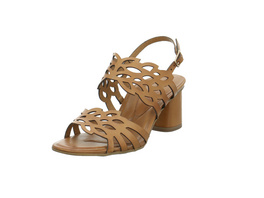 Tamaris Damen 28051-305 Braune Glattleder Sandalette