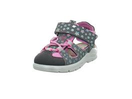 Ricosta Kinder Gery Graue Synthetik/Textil Sandale