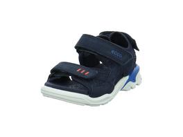 Ecco Kinder Biom Raft Blaue Materialkombinierte Sandale