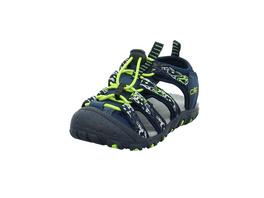 CPM Kinder Kids Sahiph Hiking Blaue Textil/Leder Sandale