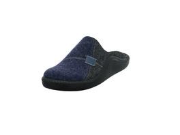 Westland Herren Monaco 302 Blauer Textil Pantoffel